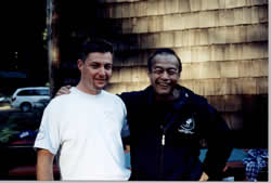 Scott Anderson with Guro Dan Inosanto